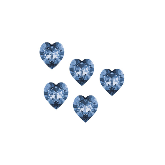 Swarovski Sweet Hearts - Blueberry Bursts