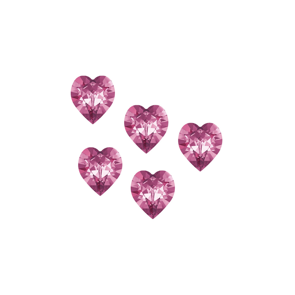 Swarovski Sweet Hearts - Bubblegum