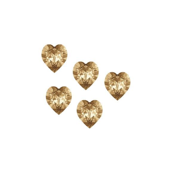Swarovski Sweet Hearts - Caramel Kisses