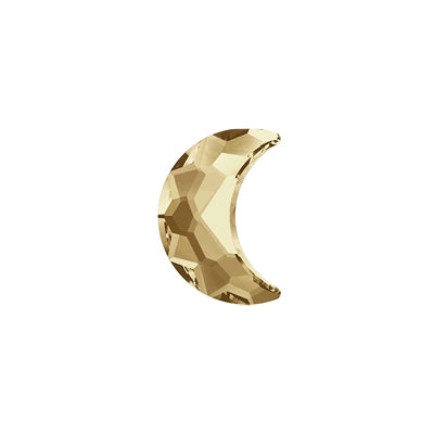 Swarovski - Millennial Crystal Half Moon - Golden Shine
