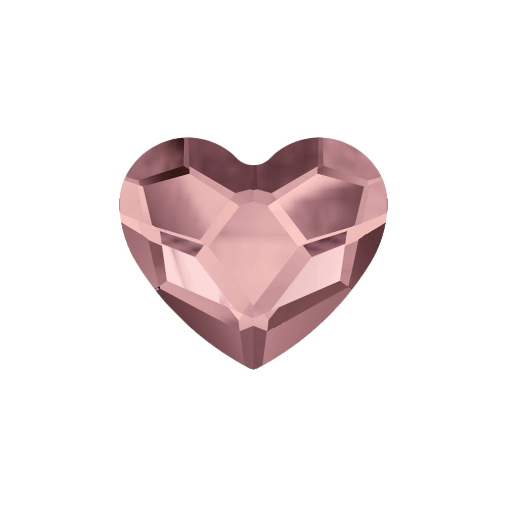 Swarovski Little Love Heart - Antique Pink