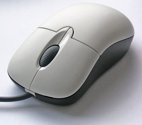 Picture of a White Mouse