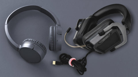 Wired & Wireless Gaming Headset