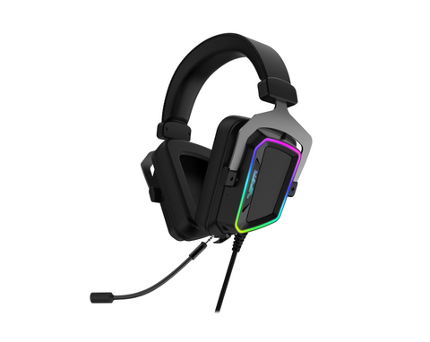 Viper V380 Virtual 7.1 Surround Sound  PC Gaming Headset w/ ENC Microphone and  Full Spectrum RGB