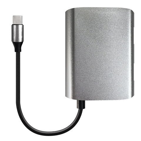 USB-C to USB-A 3.0/2.0 3-Port Hub