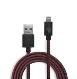 3.3 Ft. Charge and Sync Woven Lightning Cable