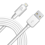 6 Ft. Charge and Sync White Lightning Cable