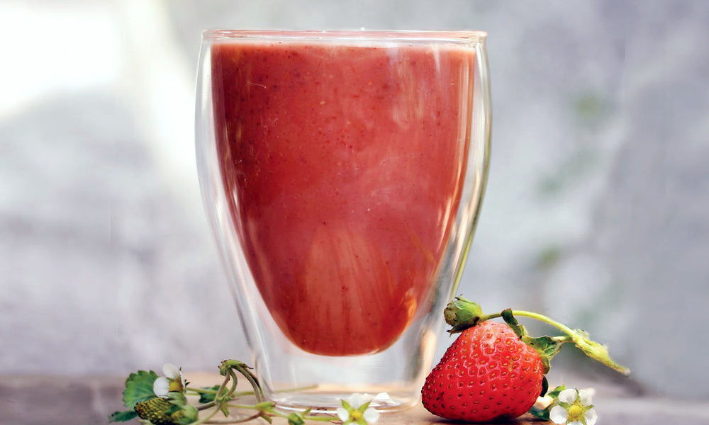 Strawberry Chamomile Immune Boost Blend Recipe