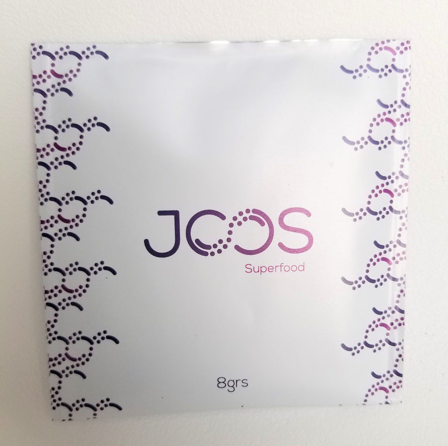 JOOS Recovery blend packet front view.