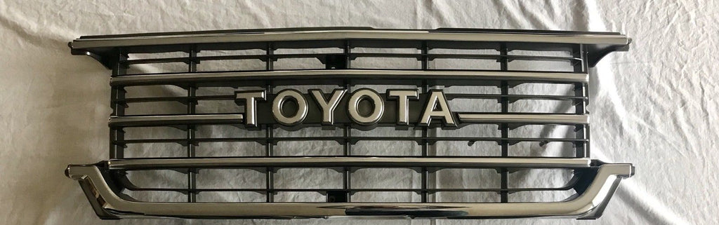 Toyota Land Cruiser FJ62 FJ 62 fj62 Front Chrome Grille Grill Only 8/87-1/90