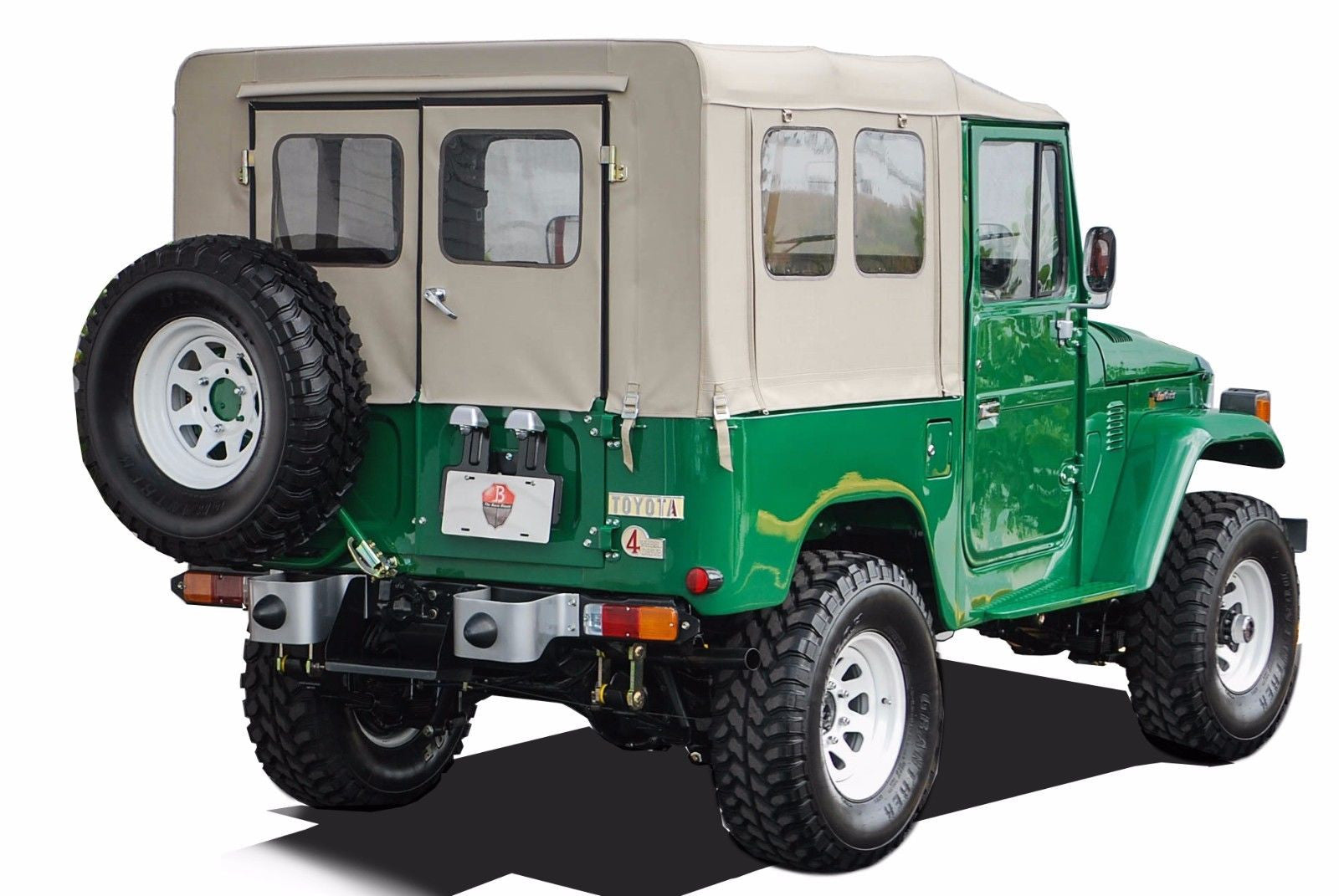 FJ40 Soft Top Complete Kit