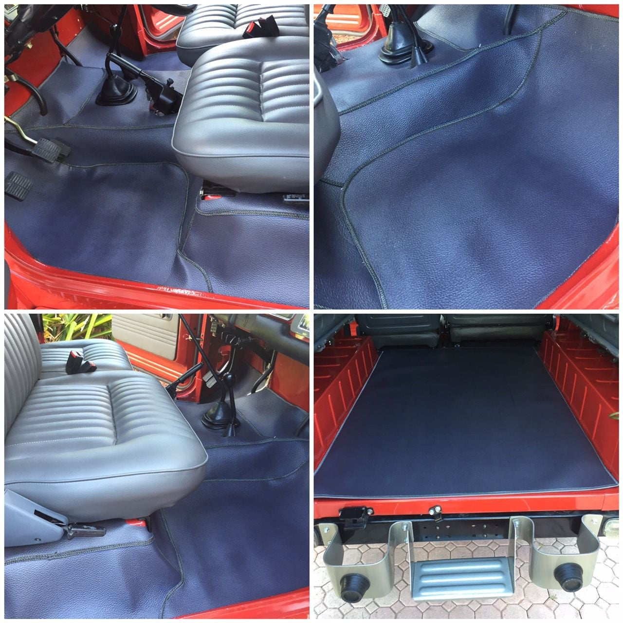 FJ40 Replacement Floor Mats