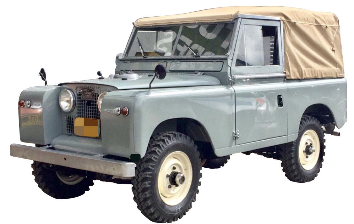 "Land Rover Series 88"" Canvas Top without Side Windows"