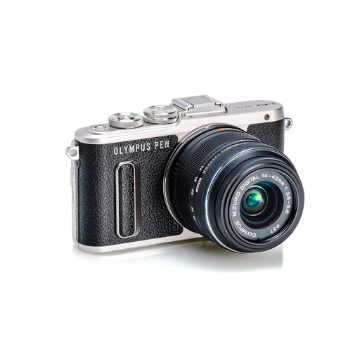 Olympus PEN E-PL8 16.1 Megapixel Camera with Lens, Black