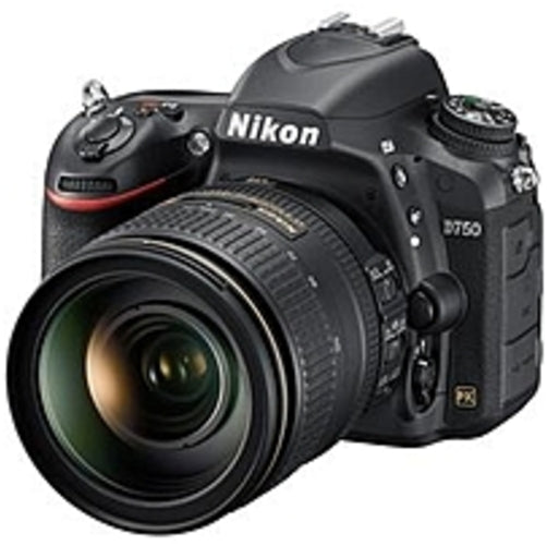 Nikon 1549 D750 24.3 Megapixel Digital SLR Camera with Lens - 24 mm-120 mm - 3.2in LCD - 16:9 - 5x Optical Zoom - i-TTL - 6016 x 4016 Image - 1920 x 1080 Video - HDMI - HD Movie Mode