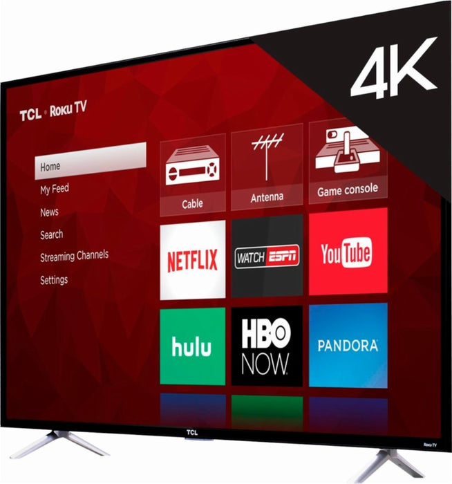 "43"" TCL LED - 4 Series - 2160p Smart 4K UHD TV with HDR Roku TV"