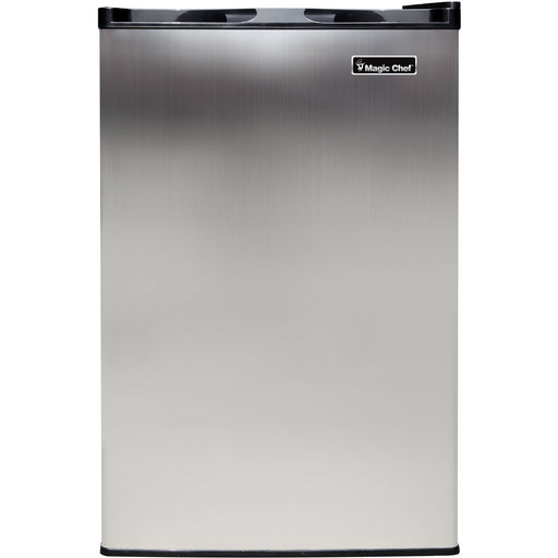 Magic Chef 3 Cu. Ft. Upright Freezer with Stainless Steel Door