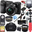 Sony Alpha a6000 24.3MP Wi-Fi Mirrorless Digital Camera + 16-50mm Lens Kit (Black) +64GB SD Card + DSLR Photo Bag + Extra Battery+Wide Angle Lens+2x Telephoto Lens+Flash+Remote+Tripod Executive Bundle