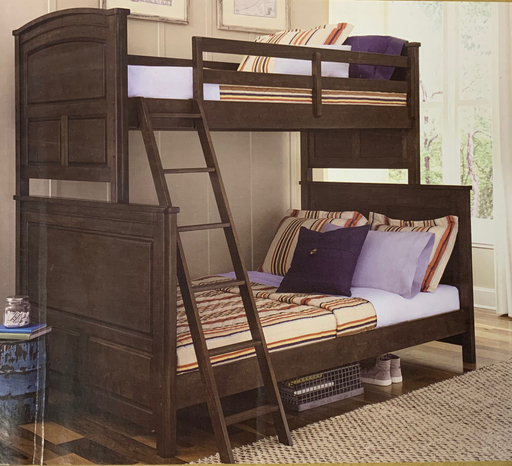 Wood Twin/Full Bunk Bed