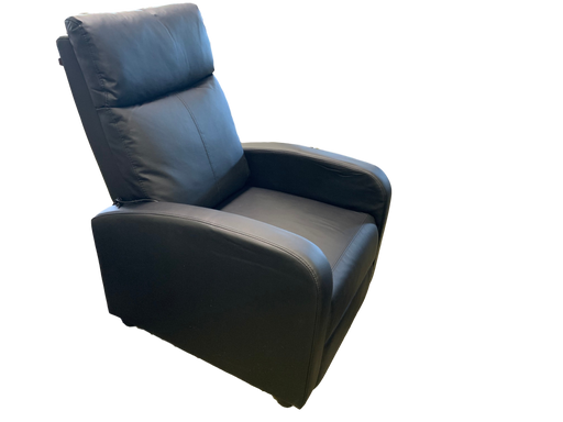Home Theater Leatherette Recliner W/ Massager