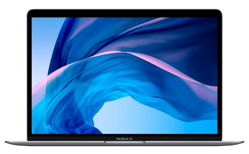 "Apple - MacBook Air 13.3"" Laptop with Touch ID - Intel Core i3 - 8GB Memory - 256GB Solid State Drive (Latest Model) - Space Gray"
