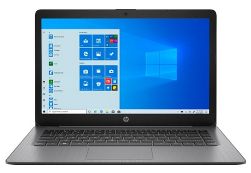 "HP - Stream 14"" Laptop - AMD A4-Series - 4GB Memory - AMD Radeon R3 - 64GB eMMC Flash Memory - Brilliant Black"