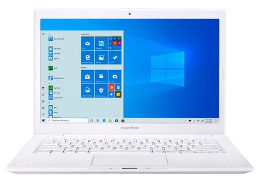 "ASUS - ImagineBook MJ401TA 14"" Laptop - Intel Core m3 - 4GB Memory - 128GB Solid State Drive - Textured White"