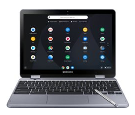 "HP - 2-in-1 14"" Touch-Screen Chromebook - Intel Celeron - 4GB Memory - 32GB eMMC Flash Memory - Ceramic White"