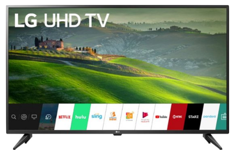 "LG - 50"" Class - LED - UM6900PUA Series - 2160p - Smart - 4K UHD TV with HDR"