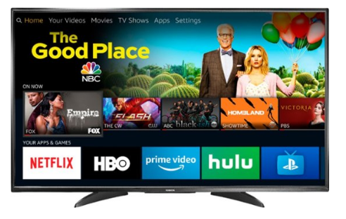 "Toshiba - 55"" Class – LED - 2160p – Smart - 4K UHD TV with HDR – Fire TV Edition"
