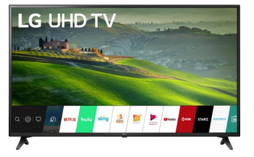 "LG - 55"" Class - LED - UM6910PUC Series - 2160p - Smart - 4K UHD TV with HDR"