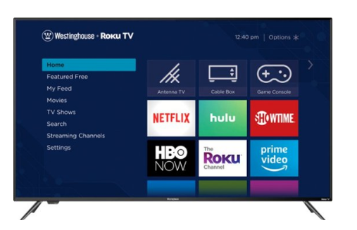 "Westinghouse - 65"" Class - LED - 2160p - Smart - 4K UHD TV with HDR - Roku TV"