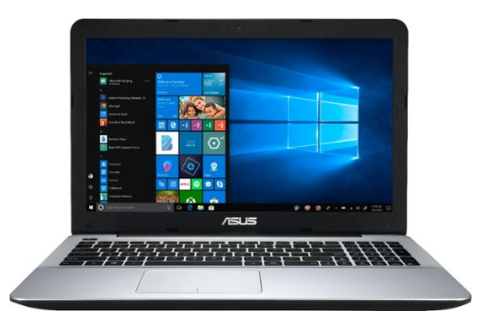 "ASUS - 15.6"" Laptop - AMD A12-Series - 8GB Memory - AMD Radeon R7 - 128GB Solid State Drive - Matte Silver IMR, Black IMR"