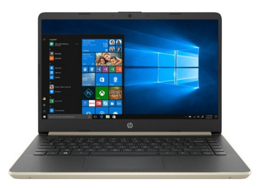 "HP - 14"" Touch-Screen Laptop - Intel Core i3 - 4GB Memory - 128GB Solid State Drive - Ash Silver Keyboard Frame"