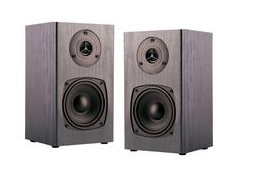 Stellar Labs Bookshelf Speaker Pair