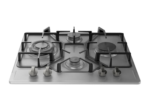 "Empava 24"" Stainless Steel 4 Italy Imported Sabaf Burners Stove Top Gas Cooktop EMPV-24GC4B67A"