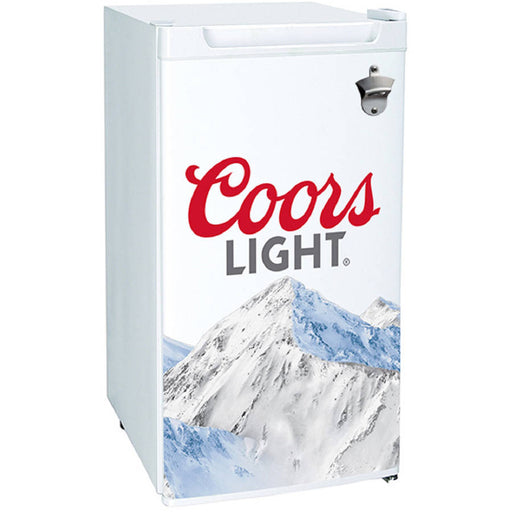 Koolatron Coors Lite 3.2 Cu Ft Mini Bar Fridge, White