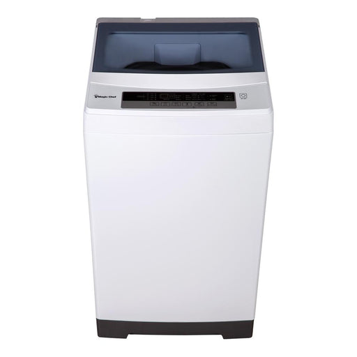 1.6 cu. ft. Compact White Top Load Washing Machine, Portable with Stainless Steel Tub