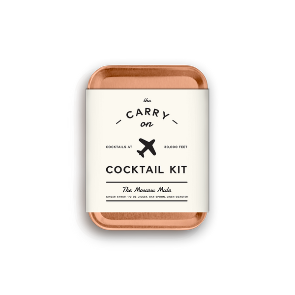 Carry On Cocktail Kit - The Moscow Mule - Le Petit Gift Co.