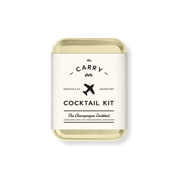 Carry On Cocktail Kit - The Champagne Cocktail - Le Petit Gift Co.
