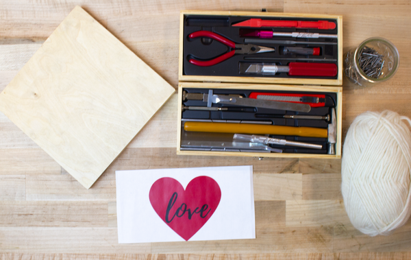 tools for DIY string art