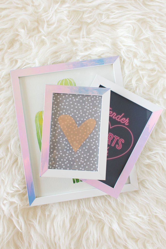 DIY Holographic Photo Frames by ClubCrafted – excelblades.com