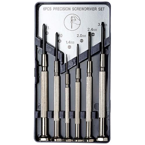 6 Piece Precision Screwdriver Set - Excel Blades