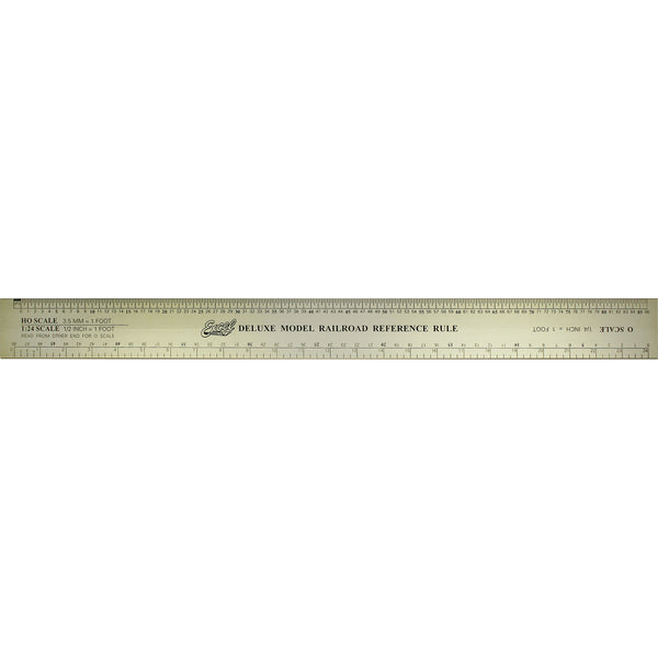 "12"" Deluxe Model Reference Ruler"