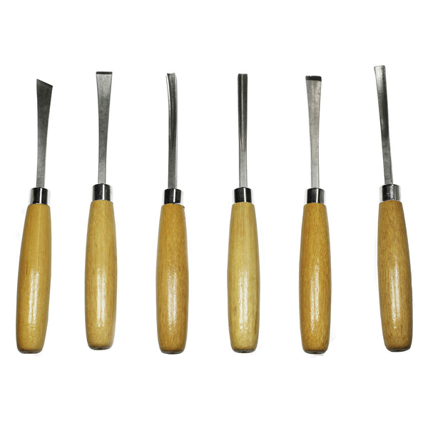 Beginners 6 Piece Woodcarving Set