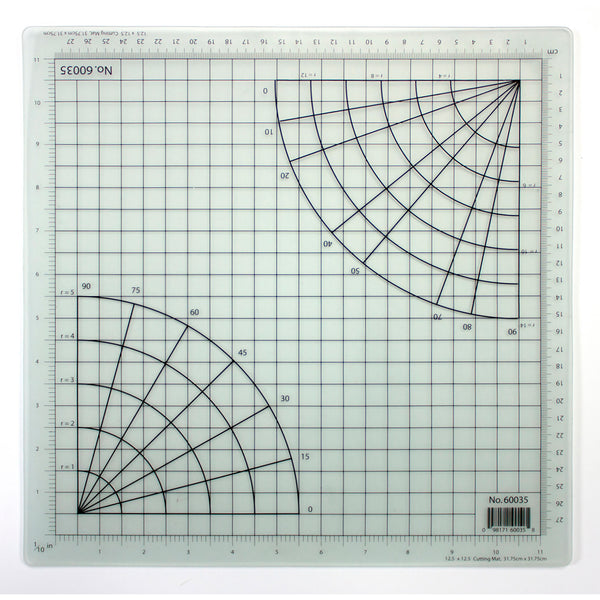 "12.5"" x 12.5"" (Clear) Cutting Mat"