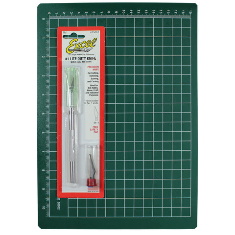 Excel Blades Precision Cutting Mat Kit
