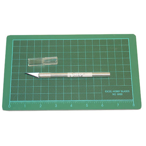 Excel Blades Precision Cutting Mat and Knife