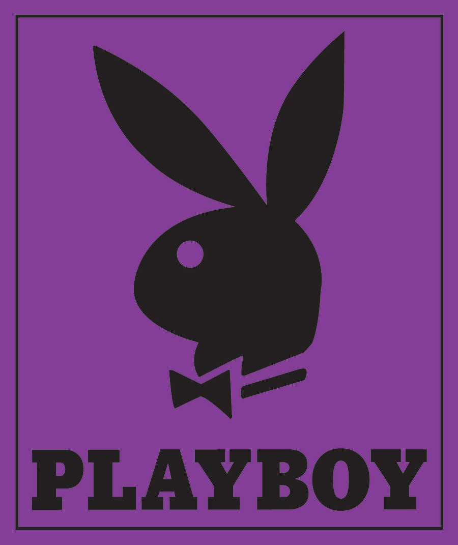 Purple Playboy Bunny Mink Blanket