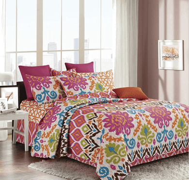 printed quilt sets